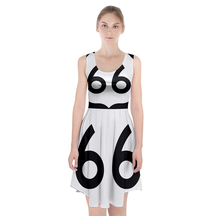 U.S. Route 66 Racerback Midi Dress