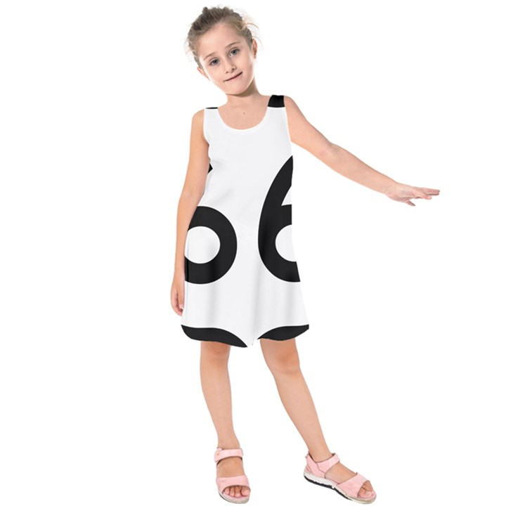 U.S. Route 66 Kids  Sleeveless Dress