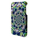 Power Spiral Polygon Blue Green White Apple iPhone 3G/3GS Hardshell Case View3