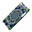 Power Spiral Polygon Blue Green White Apple iPod Touch 4 View4