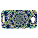 Power Spiral Polygon Blue Green White HTC One S Hardshell Case  View1