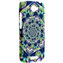 Power Spiral Polygon Blue Green White HTC One S Hardshell Case  View2
