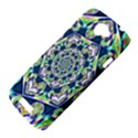 Power Spiral Polygon Blue Green White HTC One S Hardshell Case  View4