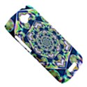 Power Spiral Polygon Blue Green White HTC One S Hardshell Case  View5