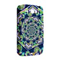 Power Spiral Polygon Blue Green White HTC ChaCha / HTC Status Hardshell Case  View2