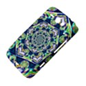 Power Spiral Polygon Blue Green White HTC ChaCha / HTC Status Hardshell Case  View4