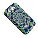 Power Spiral Polygon Blue Green White HTC ChaCha / HTC Status Hardshell Case  View5