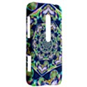 Power Spiral Polygon Blue Green White HTC Evo 3D Hardshell Case  View2