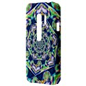 Power Spiral Polygon Blue Green White HTC Evo 3D Hardshell Case  View3