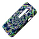 Power Spiral Polygon Blue Green White HTC Evo 3D Hardshell Case  View4