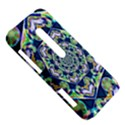 Power Spiral Polygon Blue Green White HTC Evo 3D Hardshell Case  View5