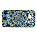 Power Spiral Polygon Blue Green White HTC Droid Incredible 4G LTE Hardshell Case View1