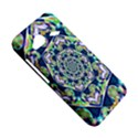 Power Spiral Polygon Blue Green White HTC Droid Incredible 4G LTE Hardshell Case View5