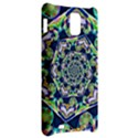 Power Spiral Polygon Blue Green White Samsung Infuse 4G Hardshell Case  View2