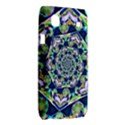 Power Spiral Polygon Blue Green White Samsung Galaxy SL i9003 Hardshell Case View2