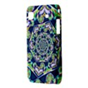 Power Spiral Polygon Blue Green White Samsung Galaxy SL i9003 Hardshell Case View3