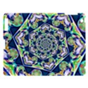Power Spiral Polygon Blue Green White Apple iPad 3/4 Hardshell Case View1