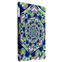 Power Spiral Polygon Blue Green White Apple iPad 3/4 Hardshell Case (Compatible with Smart Cover) View2