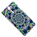 Power Spiral Polygon Blue Green White Sony Xperia S View5