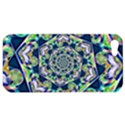 Power Spiral Polygon Blue Green White Apple iPhone 5 Hardshell Case View1