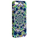 Power Spiral Polygon Blue Green White Apple iPhone 5 Hardshell Case View2