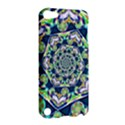 Power Spiral Polygon Blue Green White Apple iPod Touch 5 Hardshell Case View2