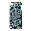 Power Spiral Polygon Blue Green White Apple iPod Touch 5 Hardshell Case View3