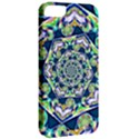 Power Spiral Polygon Blue Green White Apple iPhone 5 Classic Hardshell Case View2