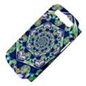 Power Spiral Polygon Blue Green White Samsung Galaxy S III Hardshell Case (PC+Silicone) View4