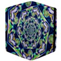 Power Spiral Polygon Blue Green White Apple iPad 2 Flip Case View4