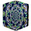 Power Spiral Polygon Blue Green White Apple iPad Mini Flip Case View4