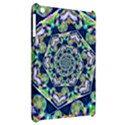 Power Spiral Polygon Blue Green White Apple iPad Mini Hardshell Case View2