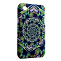 Power Spiral Polygon Blue Green White Apple iPhone 3G/3GS Hardshell Case (PC+Silicone) View2