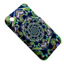 Power Spiral Polygon Blue Green White Apple iPhone 3G/3GS Hardshell Case (PC+Silicone) View5