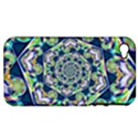 Power Spiral Polygon Blue Green White Apple iPhone 4/4S Hardshell Case (PC+Silicone) View1