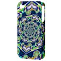 Power Spiral Polygon Blue Green White Apple iPhone 4/4S Hardshell Case (PC+Silicone) View3