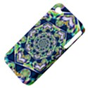 Power Spiral Polygon Blue Green White Apple iPhone 4/4S Hardshell Case (PC+Silicone) View4