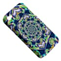 Power Spiral Polygon Blue Green White Apple iPhone 4/4S Hardshell Case (PC+Silicone) View5