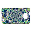 Power Spiral Polygon Blue Green White Samsung Galaxy S II i9100 Hardshell Case (PC+Silicone) View1
