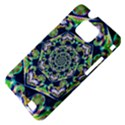 Power Spiral Polygon Blue Green White Samsung Galaxy S II i9100 Hardshell Case (PC+Silicone) View4