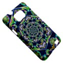 Power Spiral Polygon Blue Green White Samsung Galaxy S II i9100 Hardshell Case (PC+Silicone) View5