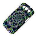 Power Spiral Polygon Blue Green White Samsung Galaxy S III Classic Hardshell Case (PC+Silicone) View4