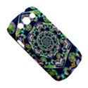 Power Spiral Polygon Blue Green White Samsung Galaxy S III Classic Hardshell Case (PC+Silicone) View5