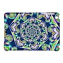 Power Spiral Polygon Blue Green White Apple iPad Mini Hardshell Case (Compatible with Smart Cover) View1