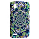 Power Spiral Polygon Blue Green White HTC Desire V (T328W) Hardshell Case View2
