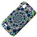 Power Spiral Polygon Blue Green White HTC Desire V (T328W) Hardshell Case View4
