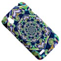 Power Spiral Polygon Blue Green White HTC Desire V (T328W) Hardshell Case View5