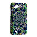 Power Spiral Polygon Blue Green White HTC Desire VC (T328D) Hardshell Case View2