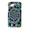 Power Spiral Polygon Blue Green White HTC Desire VC (T328D) Hardshell Case View3