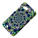 Power Spiral Polygon Blue Green White HTC Desire VC (T328D) Hardshell Case View4